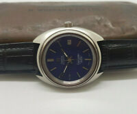 VINTAGE OMEGA SEAMASTER COSMIC 2000 BLUE DIAL DATE AUTOMATIC MAN'S WATCH
