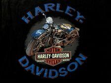Harley Davidson Antique Bike Black Shirt Nwt Men's XL