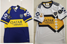 2020-2021 Boca Juniors Home / Away soccer Jersey  and Copa Libertadores patch