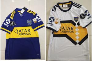 2020-2021 Boca Juniors Home / Away soccer Jersey  and Copa Libertadores patch
