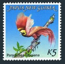 Papua New Guinea 603,lightly hinged.Michel 478. Bird of Paradise,1984