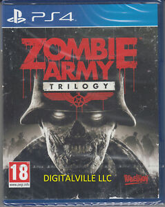 Zombie Army Trilogy PS4 Brand New Factory Sealed PlayStation 4