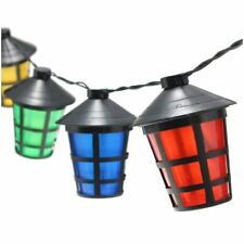 40 LED Mulit-Coloured Lanterns Solar Christmas Outdoor Garden String Lights