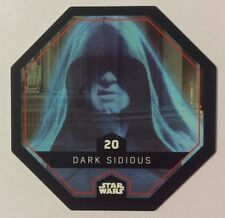 STAR WARS Jeton 20 DARK SIDIOUS Cosmic Shells E.Leclerc Collector Image