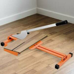 Professional Laminate Floor Cutter Heavy Duty InchV-Inch Support Steel Frame