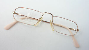 Goldfarb. Reading Glasses Narrow Light Nahbrille Brand Eschenbach Halbbrillen S