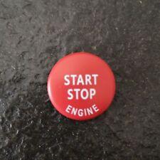 Red Engine Start Stop Switch Button Cover for BMW E60 E70 E83 E84 E90 E92 E93