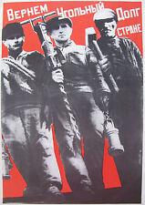 G. Klutsis Klucis. SOVIET RUSSIAN CONSTRUCTIVISM. VANGUARD POSTER.
