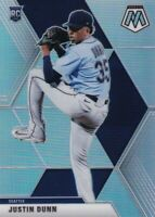 2020 CHRONICLES MOSAIC PRIZMS SILVER RC JUSTIN DUNN SEATTLE MARINERS - B4704