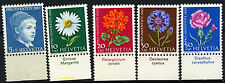 Switzerland 1963 SG#J197-J201 Pro Juventute Flowers MNH Set #D45700