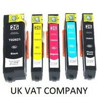 NON OEM 26XL INK CARTRIDGE MULTIPACK FOR EPSON XP-600 605 610 810 820 POLAR BEAR