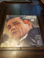 Johnny Cash At Folsom Prison LP Vinyl Album 1968 Columbia Records CS 9639