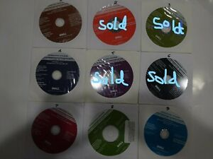 Dell WIN DVD 0171C1 0GR343 0R7XD1 0J229H 0N172H 09M8VY 0M144H 0FK812 Please Read