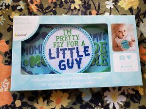 NEW NIP PEARHEAD Baby Boy Felt Belly Sticker Set