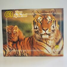 Tiger By the Tail 63 Piece Rare Vintage Jigsaw Puzzle Golden Keepsake Great Cond