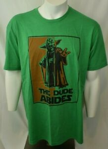 Travel By Gravel - Men's Green - The Dude Abides Tee - Size XL  - NWOT