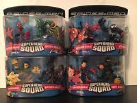 SUPER HERO SQUAD SPIDER-MAN, Lot Of 4 NIP