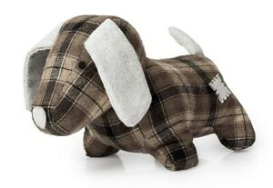 Ollie Dog - Tartan Body Design - Novelty Animal Door Stop