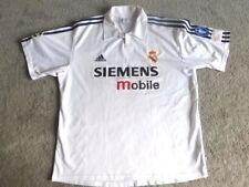 REAL MADRID 02/04 XL Centenary Adidas Football Shirt Camiseta Champions League