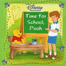 Disney  Winnie the Pooh  Time for School  (Paperback, 2006)