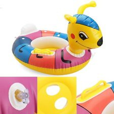 ANT Inflatable Baby Kids Toddler Infant Swimming Pool Swim Seat Float Boat Ring