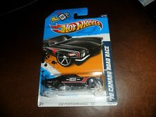 RARE FTE WHEEL ERROR 2012 Hot Wheels #144 HW Performance '70 CAMARO ROAD RACE
