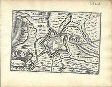 Antique map, Moyenvic