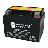 Mighty Max YTX4L-BS SLA Battery for Honda 50 NCH50 Metropolitan 13-'15