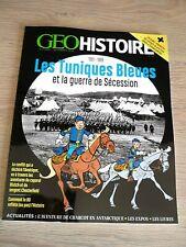 REVUE  GEOHISTOIRE  N° 53  OCTOBRE-NOVEMBRE  2020  /  LES TUNIQUES BLEUES ...