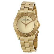 New Marc Jacobs MBM3126 Womens Gold Quartz Wristwatch - UK Seller