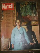 Paris Match N° 603 29 octobre 1960 Fabiola Kennedy Nixon qui gagnera E Taylor