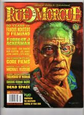 WoW! Rue Morgue #83 / 50 Years Of Famous Monsters Of Filmland with F.J. Ackerman