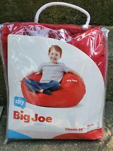 "My Big Joe Kids' Classic 98"" Red Bean Bag Chair Cover"