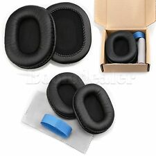 Leather Ear Pad Cushion For Audio-technica ATH-M40x M50S M20 M30 M40 ATH-SX1