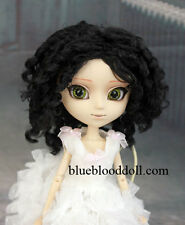 "1/3 bjd 9-10"" doll brown color curly wig Pullip Taeyang Soom ID W-182XL"