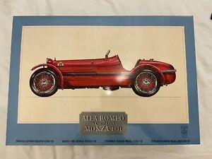 Pocher Alfa Romeo 8C 2300 Monza 1931 1/8 NEW ART K/71