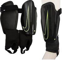Nike Charge Football Shin Guards Sports Mens Hard shell Pads Black