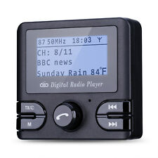 Digital Car DAB + Radio Adapter Receiver Tuner Bluetooth FM Transmitter Antenna