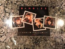 "Bangles 7"" Picture Disc! Limited. The Go Gos Cyndi Lauper Blondie Joan Jett"