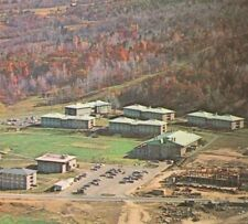 1960s Ithaca College Aerial View Campus Famous Alumni NY New York Postcard