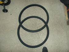 2 Tyre & 2 Inner Tubes 28 x 1 5/8 Black Michelin Bike Men's