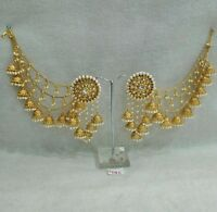 Indian Bollywood Designer Gold Plated  Jhumka Earrings Ethnic Fashion Jewelry55