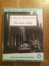 The Great Gatsby Penguin Audio Books Cassettes. F. Scott Fitzgerald