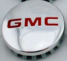"GMC POLISHED Aluminum wheel Center Cap 22837060 83mm 3.25"" Sierra Yukon Denali"