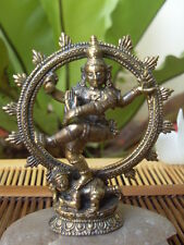 Lord Shiva Nataraja OM Hinduism The Lord (or King) of Dance Goddess Brass Amulet