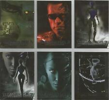 "Terminator 3, Comic Images- ""The Skynet War Machine"" 6 Card Foil Chase Set #C1-6"
