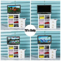 KE_ 1:6 1:12 DOLLHOUSE MINI TV TOY MINIATURE DISPLAY SCREEN WITH REMOTE CONTRO