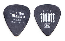 Marilyn Manson Mark Chaussee Concert-Used Black Guitar Pick - 2004 Tour