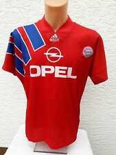 FC Bayern München Trikot adidas 1991-93 S M Heim Home Jersey Shirt Camiseta Opel