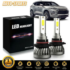 Super Bright 9005 Hb3 Led Headlight Bulbs Kit High Beam 3000Lm 6500K White Dhb